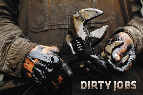 You know what they say, it's a dirty job, but someone's got to do it. There are hundreds of dirty jobs out there – dirty, stinky, smelly, messy, sloppy, gross, grueling, get-up-in-there jobs that most of us can't imagine doing once, never mind every day. There are so many, that an entire is dedicated to dirty jobs.These jobs are essential to making our society run cleanly and efficiently, and the men and women who do these jobs are the unsung heroes of the American workforce. They make the jobs