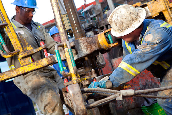 Oil is a lucrative business but for the workers who are tasked with getting it out of the ground, it's a dirty, messy, smelly, grueling job.You have to live away from your family and work 12 hours a day under cramped, dangerous conditions.But, the pay is good: Entry-level maintenance roustabouts, who basically clean and paint the rig, make around $47,000, while rig safety and training coordinators can make $80,000 or more, according to a site started by a group of offshore workers and former off