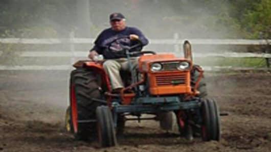Phil Jones has been a farmer for ovr 20 years.