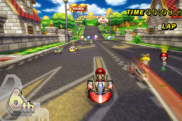 Publisher: NintendoThe sixth installment in Nintendo's racing franchise has been its biggest, due in part to a plastic accessory that makes driving the game's go-karts feel more natural. It also lets up to 12 players compete together online, something the series had never done before.