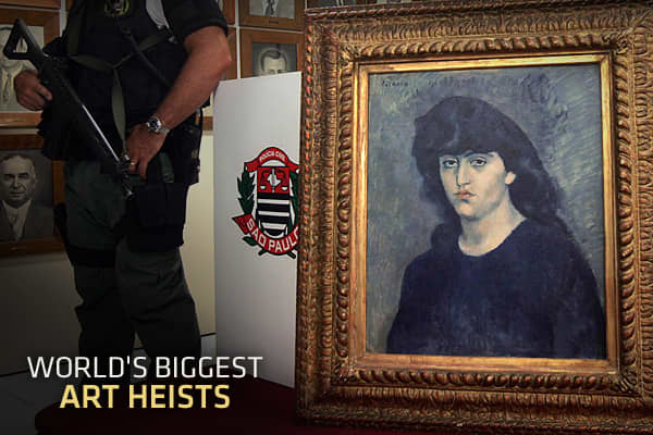 Daring thieves have broken into museums, castles, and even personal homes throughout history to swindle artistic masterpieces. It doesn't happen often given how much art is out there, but when it does — and especially when the thieves get away with it — it makes global headlines. Unlike most robberies, art theft is typically more about obsession than it is making money — the thieves steal for their own personal collections.