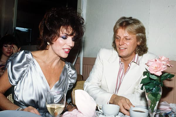 Divorced: 4 times The British actress Joan Collins had already enjoyed a long, successful career before joining the cast of Dynasty in 1981 as the scheming Alexis Colby. However, that role made her a superstar, and her presence on the show is widely credited with contributing to its success. Millions of television viewers couldn't help tuning in every week to see if she and co-star Linda Evans would get into yet another catfight in a pool of mud. She first married Irish actor Maxwell Reed in 195
