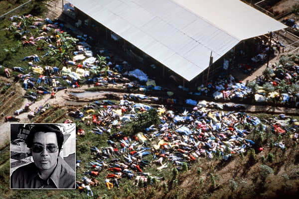 "Also known as the ""mad messiah,"" Jones was founder and leader of the ""People's Temple."" In 1965, Jones claimed that the world would be engulfed in a nuclear war on July 15, 1967. When that didn't happen, Jones went about establishing his communist commune in ""Jonestown"" in Guyana. The isolated jungle land leased by Jones from the Guyanese government was used as the location of the People's Temple. Jones is notorious for the November 18, 1978 mass murder of more than 900 Temple members there. Rec"