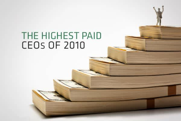 About 80 percent of companies in the S&P 500 have released information on executive compensation. With data from Capital IQ, CNBC.com ranked the highest paid CEOs in 2010. The final figure shows total calculated compensation, which includes salary, bonuses, estimated stock and stock option awards as well as other incentives. Note that the salary breakdown in this report only displays major sources of compensation, whereas other incentives, such as increases in retirement or pension funds are not