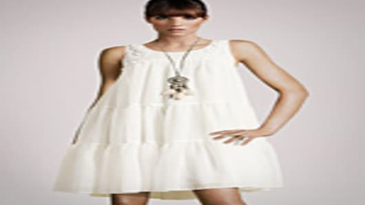 Recycled polyester dress