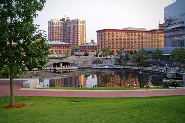 """Population: 1.62 million% commute by walking: 3.2%% commute by mass transit: 2.5%Average commute: 22.3 minutesNumber of parks: 54.2""""Providence is going through a real rebirth,"""" Sperling said. The Providence metro area has a strong downtown core, with good hiking trails and a lot of schools within walking distance. A lot of people walk to work and crime is low — one of the lowest on the list, Sperling said."""