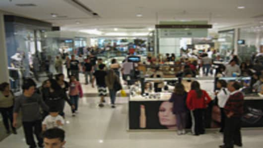 Mall in Sao Paolo, Brazil