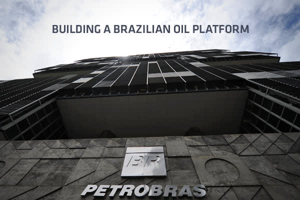 Since 2006, Brazil has been committed to energy self-sufficiency and with the discovery of vast oil fields over the last decade, the country has emerged as a major player in the world's energy markets. Petrobras, the largest company in the Southern Hemisphere by market capitalization, is in prime position to explore Brazil's vast reserves and is quickly building oil platforms to tap these resources. These new state-of-the-art platforms are multi-year, multi-billion-dollar projects that are speed
