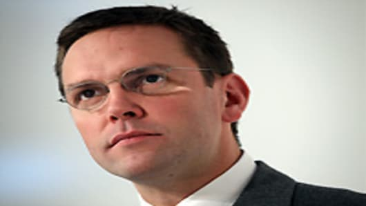 James Murdoch, son of Rupert Murdoch and Chairman and Chief Executive of News Corporation, Europe and Asia.
