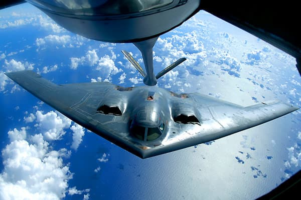 The Northrop Grumman B-2 Spirit, better known as the Stealth Bomber, can launch conventional and nuclear weapons against the most heavily protected enemy lines on earth thanks to its ability to evade radar detection. Originally, it was supposed to be manufactured in a run of 132, but it was so expensive that the initial 1987 order was slashed to 21. The cost of the B-2 program in 1997 was $737 million, or just over $1 billion today. Combined with procurement costs, the B-2 Spirit costs over $2 b