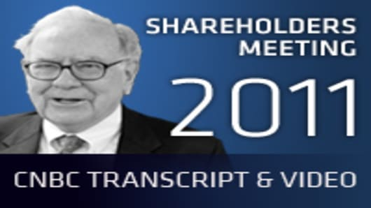 Shareholders Meeting 2011: CNBC Transcript and Video