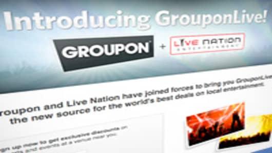 Groupon Live