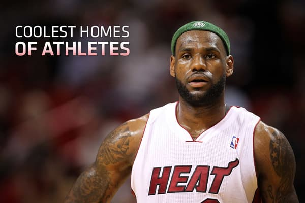 Coolest Homes of Athletes: cnbc.com/id/42993314
