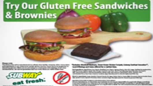 Gluten Free Subway Offerings