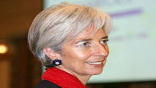 French finance minister Christine Lagarde is seen as a front-runner to succeed Strauss-Kahn.