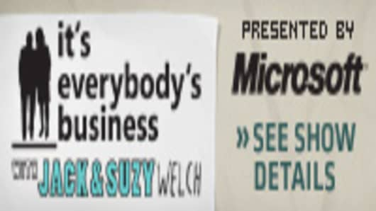 It's Everybody's Business with Jack & Suzy Welch -- Presented by Microsoft -- See Show Details