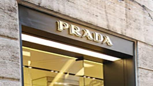The Prada store in Milan, Italy.