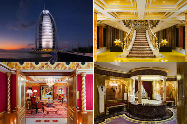 Location: Dubai, United EmiratesPrice per night: $3500 - $6800Size: approx. 2,500 square feet