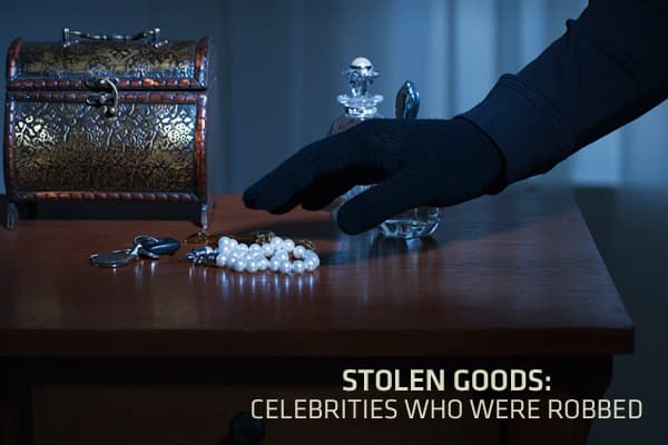 The stolen goods industry is highly profitable, thanks in part to the trafficking of such high-end wares as jewelry, electronics and rare collectors' items. Such goods are often found in the homes of celebrities, who sometimes vacate their residences for weeks on end to shoot a movie or do a publicity tour.Click ahead to see some of the celebrities who had their most valuable items stolen while they were in hotels, on the set, or even asleep in their own homes.