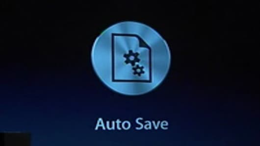 Autosave in OS X Lion