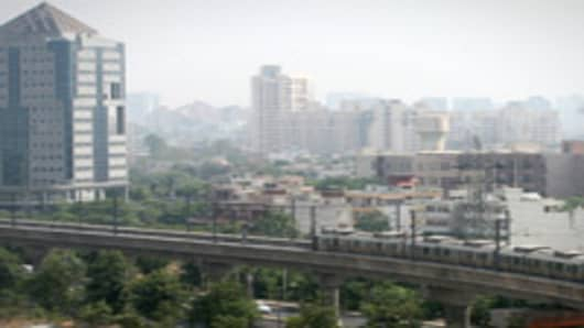 Gurgaon City Centre in New Dehli, India