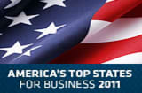 America&#039;s Top States for Business 2011 - A CNBC Special Report