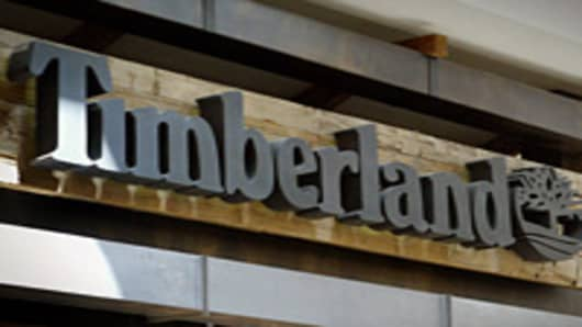 A Timberland store in  Schaumburg, Illinois.