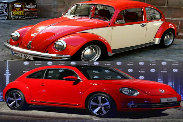 "Debuted: 1938Returned: 1998Current MSRP: $19,500The classic Volkswagen Type 1 is still one of the most recognized cars in the world, although its heyday fell in the 1960s. New Beetles launched in 1998, and Volkswagen is introducing a new New Beetle set to debut this fall, this one a bit more sleek in design with a navigation system and ambient interior lighting. ""In the 1990s, Volkswagen saw the way to fix its waning reputation: by bringing back some of its most famous badges in the U.S., where"