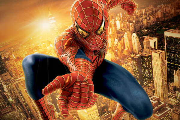 Total: $1.11 billion Spider-Man (5/3/02): $403.7 millionSpider-Man 2 (6/30/04): $373.6 million Spider-Man 3 (5/4/07): $336.5 million