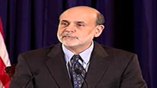 Ben Bernanke press conference following rate decision.