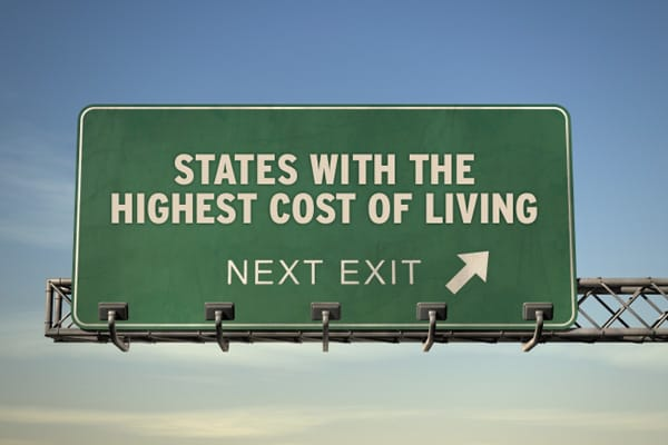 The Most Expensive States To Live In 2011