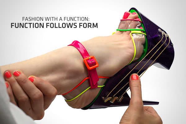 "Photo: ""E-shoe"" by Chicks on Speed and Max Kibardin"