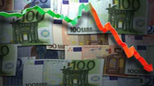 Euros & Downward Graph