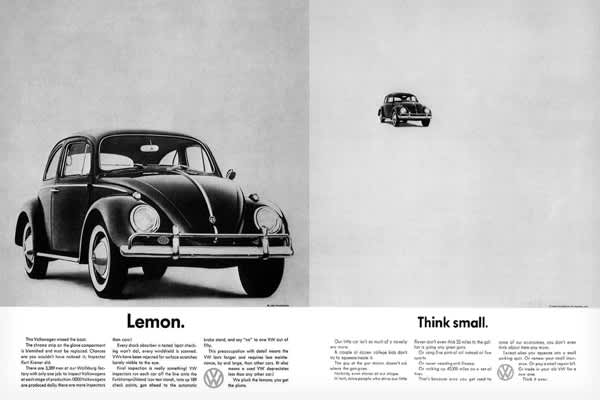 Year: 1959Agency: Doyle Dane Bernbach