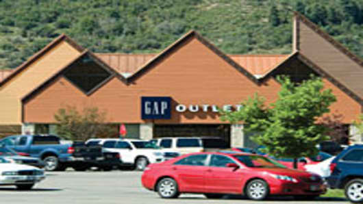 A Tanger Outlet Mall in Park City, Utah.