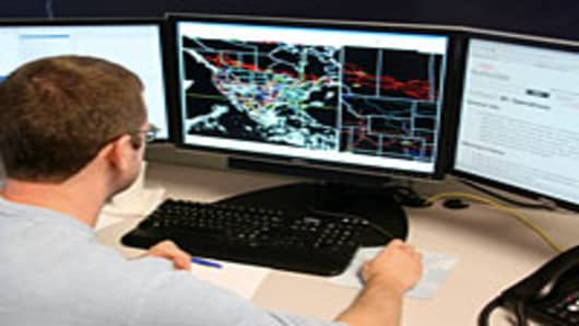 Worker at WeatherData Services, Inc., a unit of AccuWeather.