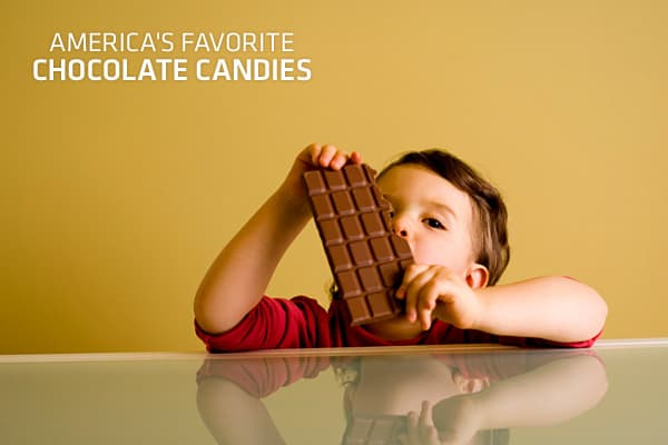 It should come as no surprise that Americans have a sweet tooth. According to SymphonyIRI Group, a Chicago-based market research firm, people in the US spent more than $7 billion dollars for individual-sized chocolate candy bars, bags and boxes in just one year. But where is the bulk of that money going? Here, we take a look at those best selling individual sized chocolate candies that are satisfying American's sugar fix. What you'll find is that oldies are still goodies – many of the top ten ha
