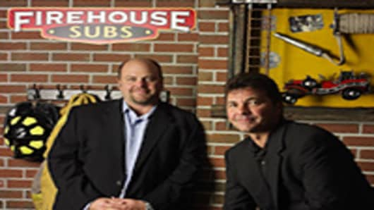 Chris and Robin Sorensen of Firehouse Subs