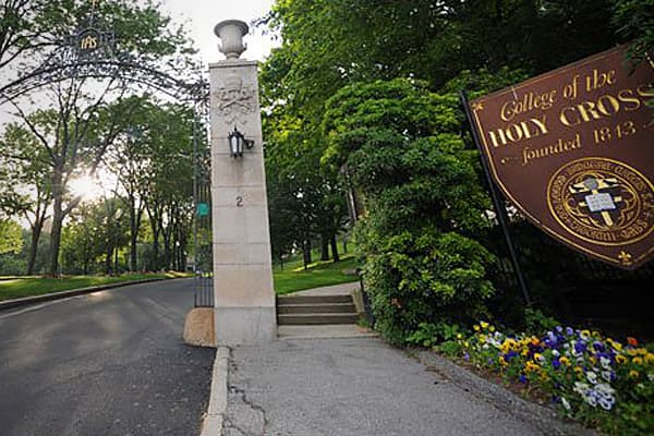Photo: College of the Holy Cross | Facebook