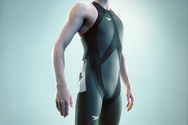 The LZR Racer is a swimsuit by Speedo, the world's leading swimwear manufacturer. It was introduced in February 2008 after a  between Comme des Garçons, the Australian Institute of Sport, and the wind tunnel testing facilities of NASA.Composed of polyurethane and spandex, and developed with the help of fluid analysis software, the suit gained notice during the 2008 Summer Olympics when it was worn by champion swimmer Michael Phelps. It's not without its downsides, such as the 20 minutes that it