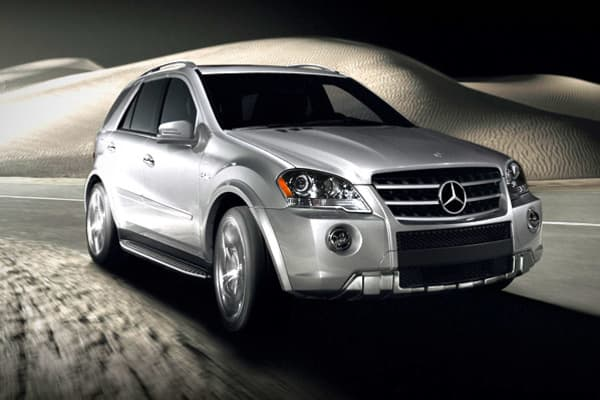 MPG city: 11MPG highway: 15The 2011 Mercedes-Benz M-Class ML63 AMG midsize SUV (pictured here) costs $400 a month to run on premium gas, and so does the Mercedes-Benz G-Class G55 AMG full-size SUV with off-roading capability, says Edmunds. The Mercedes-Benz G-Class G550 SUV with off-roading capability costs $369 per month to run on premium gas.