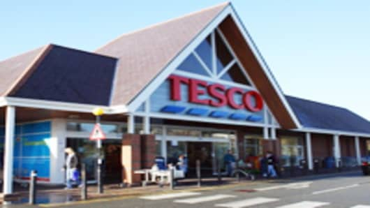 The Holyhead branch of Tesco on the Isle of Anglesey, North Wales, on November 19, 2010 in Holyhead, United Kingdom.