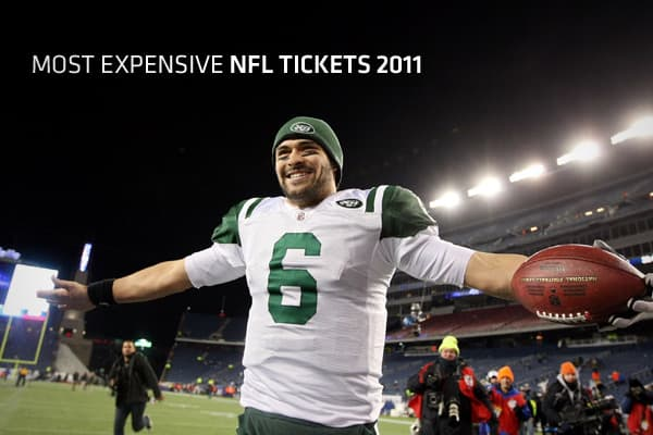 Every big NFL fan can't pony up the bucks to buy a personal seat license, so if they really want to go to a high-profile game they have to head to the secondary ticket market. The ticket prices displayed here represent the secondary market and are aggregated by TiqIQ from some of the largest ticket sellers, including StubHub, eBay, and TicketNetwork, so the prices listed here don't reflect actual face values. So, what are the 10 highest priced NFL games this season? Click ahead to find out.