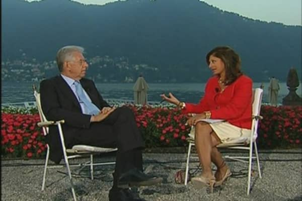 Monti to Maria: Growth Will Return to Italy in 2013