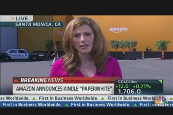 Amazon Announces Kindle 'Paperwhite'