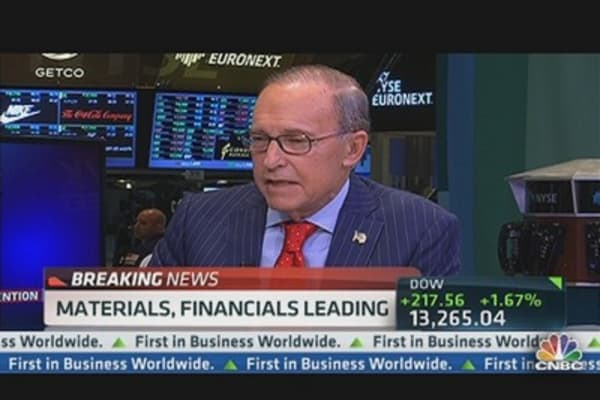 Kudlow: 'I Enjoyed Watching Bill Clinton'