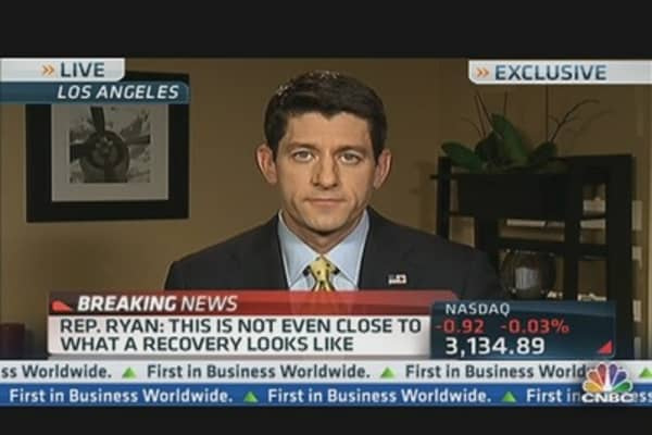 Ryan Responds to Jobs Report:  Nothing to 'Brag' About