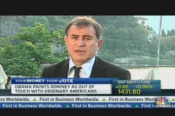 Nouriel Roubini: QE3 Is Coming