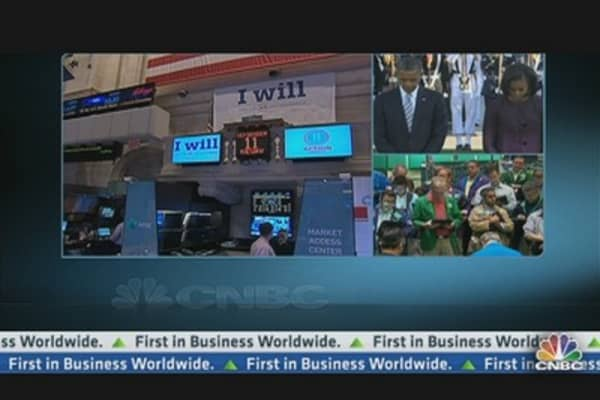 Moment of Silence Observed at NYSE