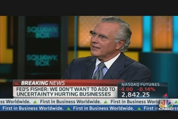 'I Would Have Voted Against It': Fisher on QE3